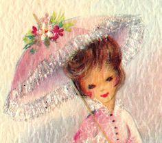 pretty pink parasol