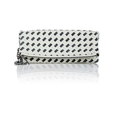 Deux Lux Women's St. Lucia Foldover Clutch ($49) ❤ liked on Polyvore featuring bags, handbags, clutches, no color, deux lux handbags, fold over handbag, fold-over handbags, jacquard handbags and fold over purse
