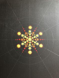 Richesse intérieure -partie 1 Marivaelle Dot Art Painting, Mandala Painting, Stone Painting, Mandala Painted Rocks, Mandala Rocks, Mandala Canvas, Mandala Art, Mandala Pattern, Mandala Design
