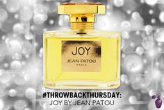 #ThrowbackThursday: Joy by Jean Patou | Eau Talk - The Official FragranceNet.com Blog