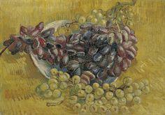 Grapes Paris, September - October 1887 Vincent van Gogh (1853 - 1890) oil on canvas, 33.0 cm x 46.3 cm Van Gogh Museum, Amsterdam (Vincent van Gogh Foundation)