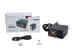 Thermaltake TR2 W0070RUC 430W ATX12V V2.2 Intel Core i7 Compliant Dual 80mm Fans Full Cable Sleevings Power Supply