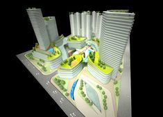 Mix Use Building, Mixed Use, Chengdu, Master Plan, Skyscraper, Towers, Concept, Architecture, Projects