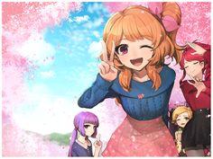Sumire, Akari, Juri et Hanabi