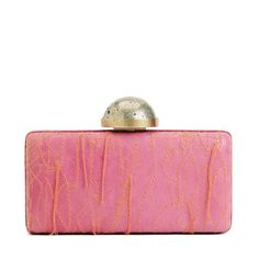 Kelly Wearstler pink clutch