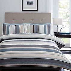 Home Collection - Blue 'Waven' bedding set