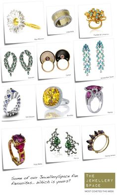 JewellerySpace fans' most coveted pieces this week... Which is your favourite?