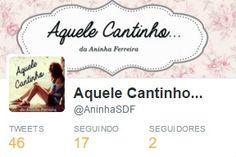 Aquele Cantinho...: Twitter