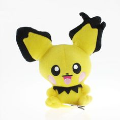 Pokemon Pichu Soft Plush Kawaii Kids Toy - OtakuForest.com