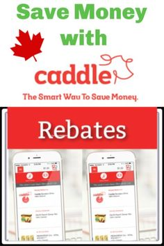 Caddle Works helps you get Rebates on Groceries and health products - Canada Free Rewards, Get Free Stuff, Health Products, Saving Money, It Works, Canada, Learning, Save My Money, Studying