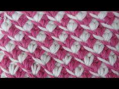 Crochet pattern Плотный узор Вязание крючком узор 56 - YouTube
