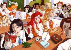 Disney Princess High School