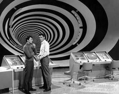 the time tunnel, 1960s TV series (they're about to kiss)