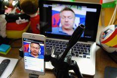 https://flic.kr/s/aHskCUpbx7 | Man streamt sich #EM2016 #MM https://www.facebook.com/gsohn/videos_by