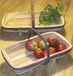 Wooden #garden trug #basket - sussex #style ,  View more on the LINK: http://www.zeppy.io/product/gb/2/272021812194/