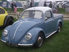 Yeah its cool but ugly... VW Beetle Pickup 2lt (1963) | Why?