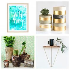 Olivia's Fab Four Insta-Finds - The Interiors Addict Planter Pots, Interiors, Plants, Interieur, Plant, Interior Decorating, Plant Pots, Planting, Planets