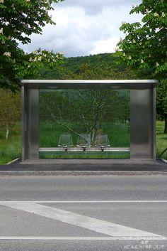 Vitra Bus Stop By Jasper Morrison