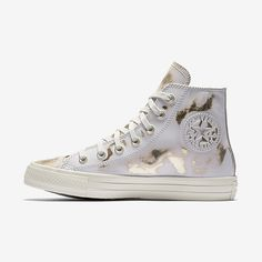 f2f655657934 Converse Chuck Taylor All Star Brush Off Leather High Top Women s Shoe Size  11 (White) - Clearance Sale