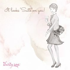 """Looking """"Suite"""" was never this simple! To get this cute bag go to www.mythirtyone.com/239184"""