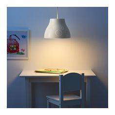 SNÖIG Pendant lamp, white white - master bedroom?