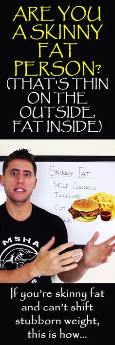 The skinny fat solution: the ultimate guide to lose fat & gain muscle fast! #skinnyfat #skinny #fat #fatburn #getfit