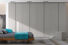 Camera da letto di design in vero legno 83 - letto Clio | Napol ...