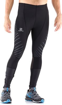 Built with stretchy fabric for light compression, the Endurance Tights supply comfort and warmth for training in cold weather. Mens Running Tights, Mens Tights, Running Pants, Running Gear, Workout Attire, Workout Wear, Mode Masculine, Lycra Men, Gym Style