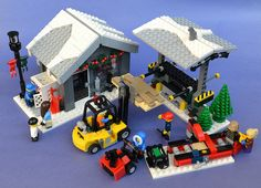 LEGO Winter Village Lumber Yard - That sounds like a great idea. I will definitely consider that an option.