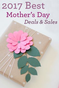 Mother's Day 2017 is Sunday, May 14th. Here's a list Mother's Day sales and deals, plus extra discounts using these coupon codes. Save up to 80% off total on Mother's Day flowers and gifts.