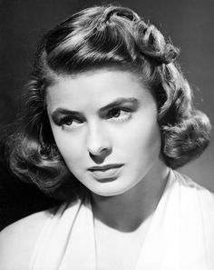 Ingrid Bergman, a woman of such great talent that hollywood took her back after banning her in 1951 due to a pregnancy scandal!