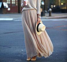 Met een hoedje maak je jouw maxi jurk of rok helemaal fashionable af!