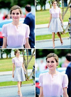 Queen Letizia visit the Volkswagen Factory in Navarra on the occasion of its 50th anniversary. Pamplona, 29.06.2016