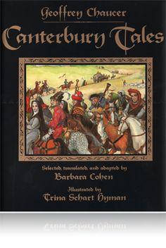Canterbury Tales Hardback - Must read the Miller's Tale