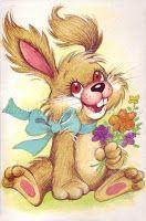 Füzesi Zsuzsa képeslapok - Lorenin's Collection Bunny Images, Pretty Art, Clipart, Cold Porcelain, Adult Coloring, Birthday Cards, Presents, Cartoon, Drawings