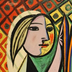 lonequixote: Girl before a Mirror (detail) by Pablo Picasso