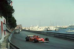 Joseph Gilles Henri Villeneuve (CAN) (Scuderia Ferrari), Ferrari 126CK - Ferrari Tipo 021 1.5 V6 (t/c) (finished 1st)  1981 Monaco Grand Prix, Circuit de Monaco
