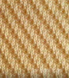 Вязание спицами узор изнаночная гладь №3984 схема Knitting Stitches, Knitting Patterns, Lana, Ravelry, Stitch Patterns, Knitted Hats, Creative, Relax, Chart