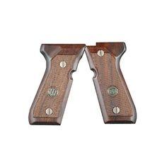 Beretta 92/96 Series Standard Wood Grips w/ Medallion