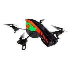 Parrot AR.Drone 2.0 Quadricopter Controlled by iPod touch, iPhone, iPad, and Android Devices (Orange/Green) (Electronics)
