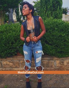 Nicki Minaj's SIDE CHICK . . . Rapper Dej Loaf Is Looking BETTER AND BETTER These Days . . . Maybe She's Using NICKI STYLIST????