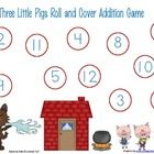 This is a fun way to add a math component to your language arts. This is a roll and cover game for the three little pigs. I hope you enjoy this fre. 3 Little Pigs Activities, Fairy Tale Activities, Nursery Rhyme Crafts, Nursery Rhymes, Foundation Maths, Pig Games, Numeracy Activities, Fairy Tales Unit, Fairy Tale Theme