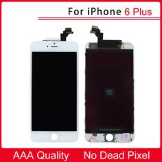 Cheap touch screen digitizer, Buy Quality display screen directly from China screen touch Suppliers: High Quality No Dead Pixel LCD For iPhone 6 Plus LCD Complete Display Touch Screen Digitizer Assembly Replacement Black/White Iphone 5s, Pixel, Telephone, Cool Things To Buy, Display, Black And White, Alibaba Group, Billboard, Cool Stuff To Buy