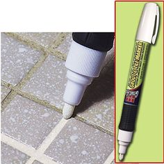 Grout & Tile Markers (Set of 2):  Dirty, stained, or aging grout makes any room look dingy & dated... revive it with this fast-drying grout & tile marker... just slide it along the grout lines & the whole room looks brighter... you can even change the color without replacing the grout (white, beige or gray)... non-toxic (odorless & anti-bacterial formula)... each marker covers 175 linear feet... (WhateverWorks.com - $13 - two or more sets $11.99 each)...