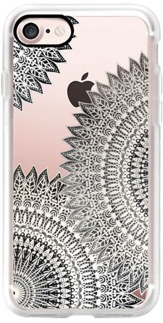 Casetify iPhone 7 Classic Grip Case - DESERT MOON MANDALAS - CLEAR IPHONE CASE by Nika Martinez #Casetify