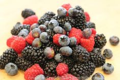 Forget Snapple - Fresh berries are the best stuff on earth!