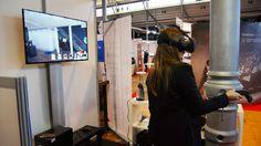 Nos visiteurs testent la réalité virtuelle
