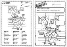 Mots de janvier, lecture, janvier, Cp, galette, roi, épiphanie, lire, comprendre Montessori Classroom, Etiquette, Kids Learning, Bullet Journal, Teaching, Writing, Cycle 2, School, Crazy Hats