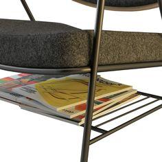 #poltroncina di #design FINN by Oliver Hrubiak, acquistala in #offerta #prezzo su www.chairsoutlet.com