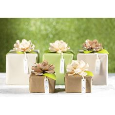 Evergreen by Nastri Brizzolari. Ideal for wedding favors decoration.